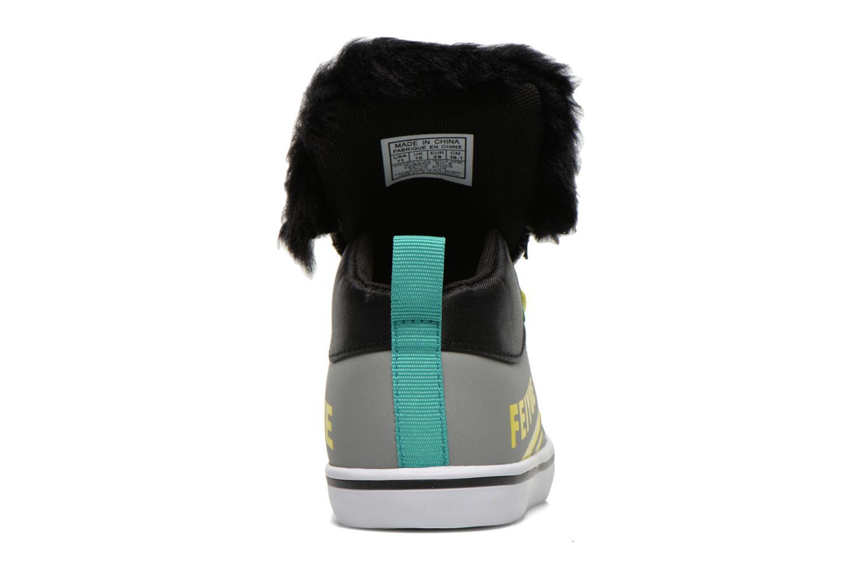Sneaker Feiyue Delta Mid Animal 2 grau ansicht von rechts