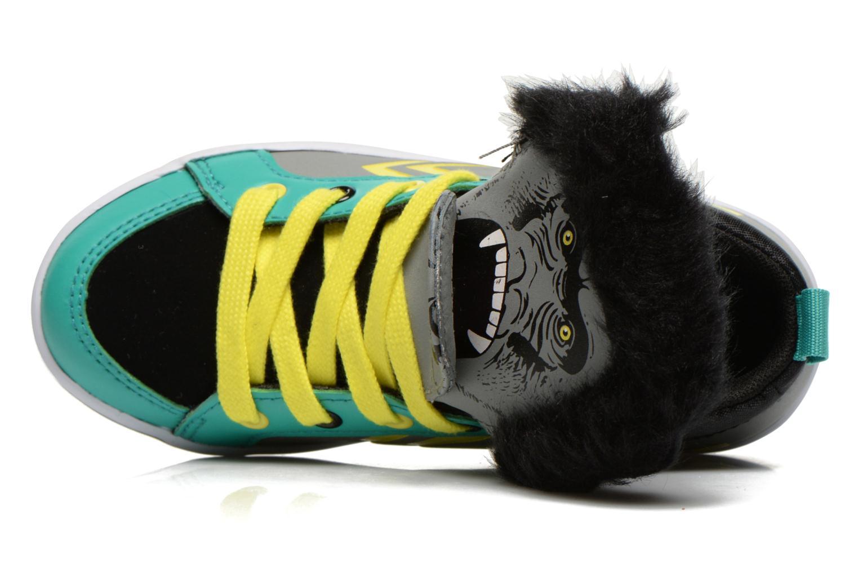 Sneaker Feiyue Delta Mid Animal 2 grau ansicht von links