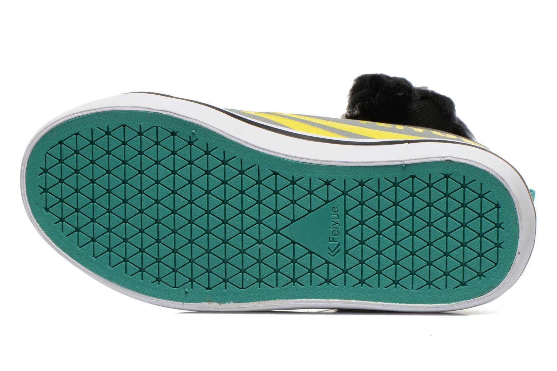 Sneaker Feiyue Delta Mid Animal 2 grau ansicht von oben