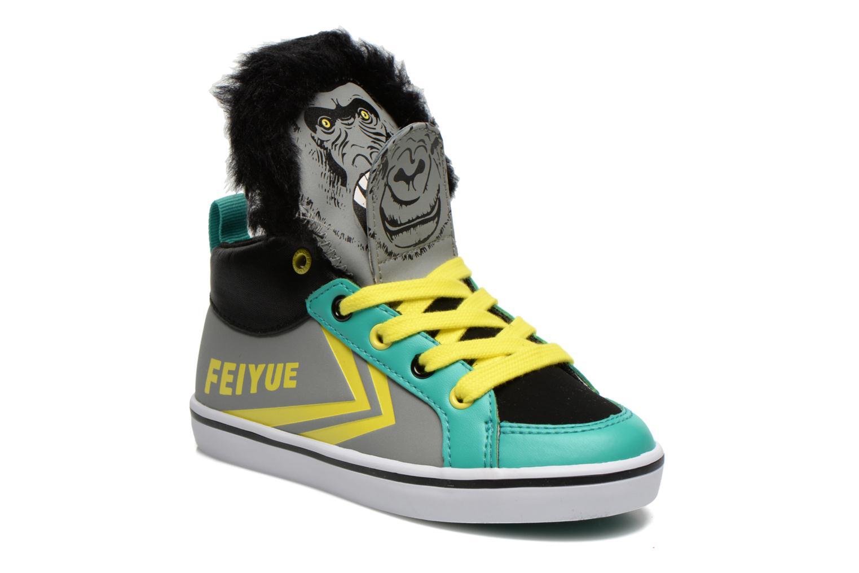 Sneaker Feiyue Delta Mid Animal 2 grau detaillierte ansicht/modell
