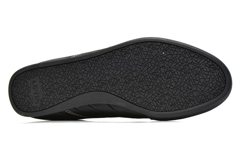 Sneaker Levi's Turlock Refresh schwarz ansicht von oben