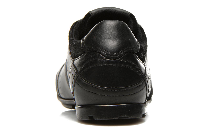 Baskets Levi's Firebaugh Noir vue droite