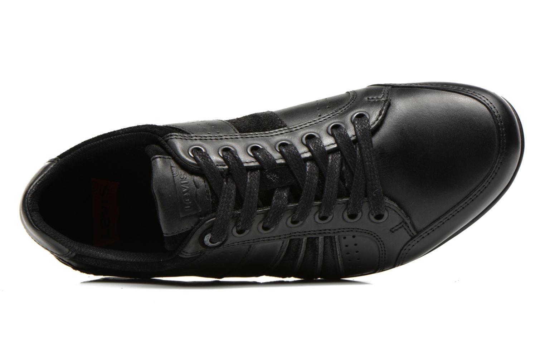 Sneaker Levi's Firebaugh schwarz ansicht von links