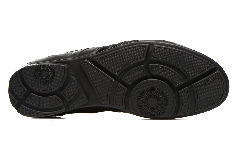 Sneaker Levi's Firebaugh schwarz ansicht von oben