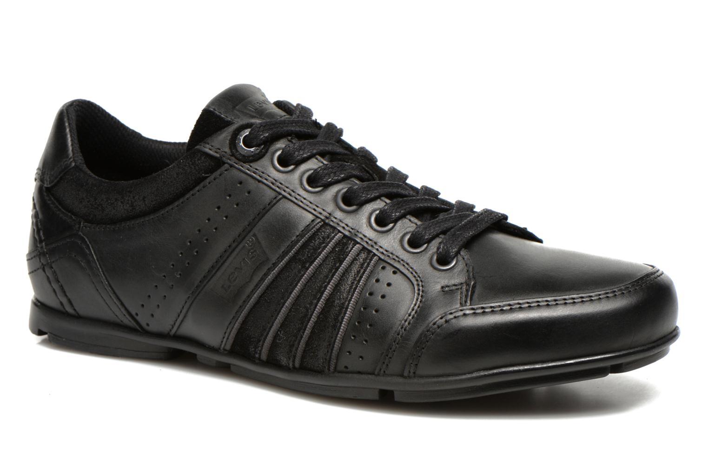 Sneakers Levi's Firebaugh Zwart detail