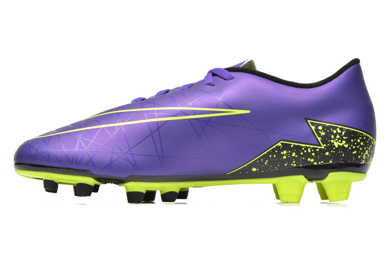 Chaussures de sport Nike Hypervenom Phade II Fg Violet vue face