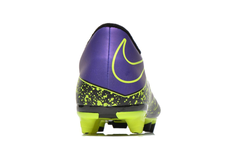 Chaussures de sport Nike Hypervenom Phade II Fg Violet vue droite