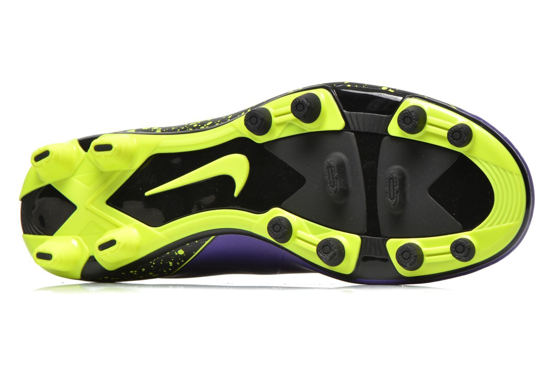 Chaussures de sport Nike Hypervenom Phade II Fg Violet vue haut
