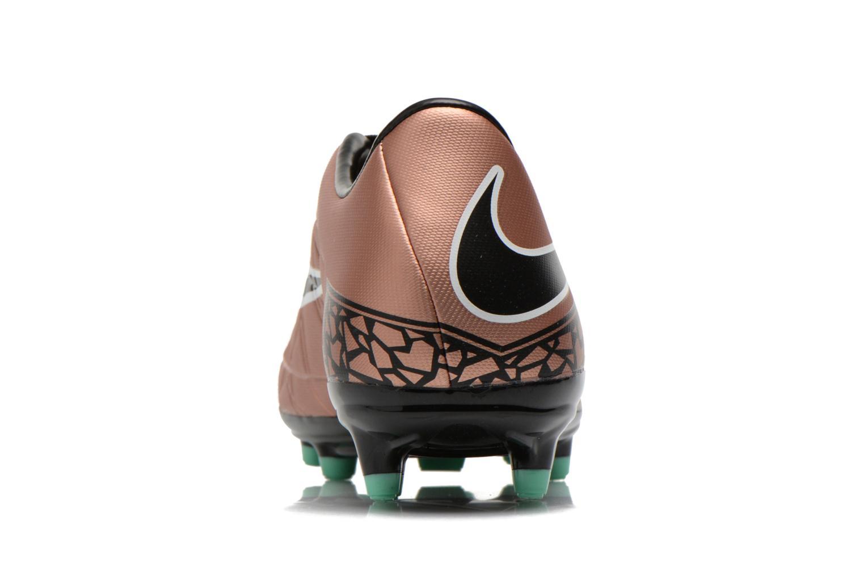 Sportschuhe Nike Hypervenom Phelon II Fg gold/bronze ansicht von rechts