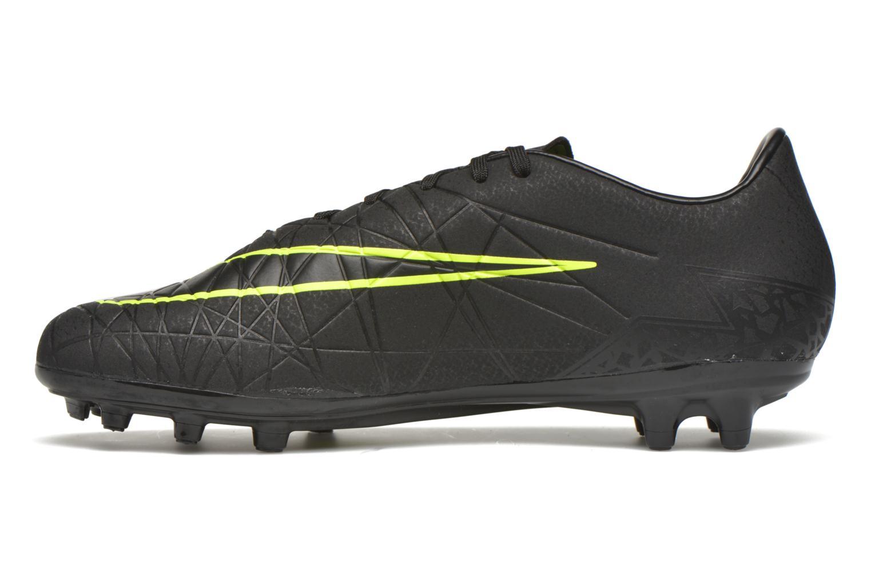 Sportschoenen Nike Hypervenom Phelon II Fg Zwart voorkant
