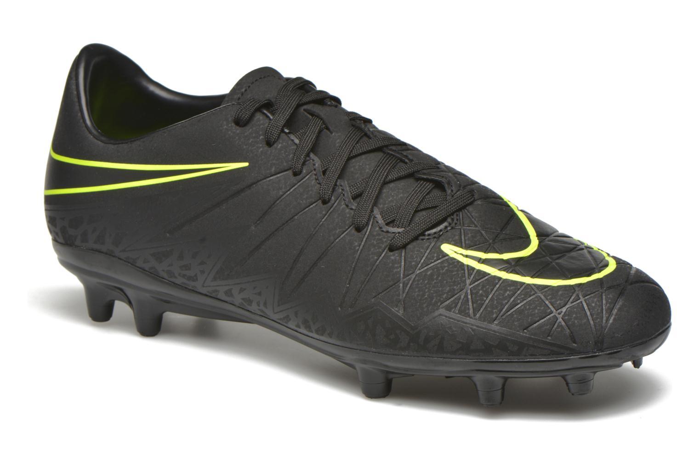 Sportschoenen Nike Hypervenom Phelon II Fg Zwart detail