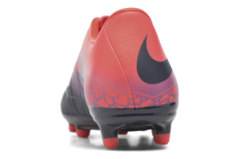 Chaussures de sport Nike Hypervenom Phelon II Fg Orange vue droite