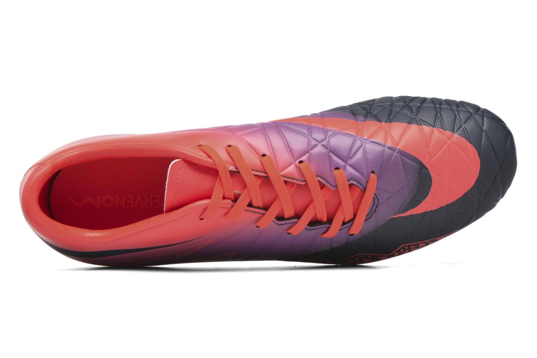 Chaussures de sport Nike Hypervenom Phelon II Fg Orange vue gauche