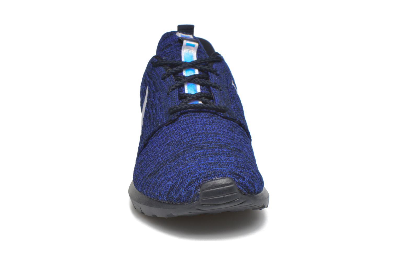 Sneaker Nike Nike Roshe Nm Flyknit blau schuhe getragen