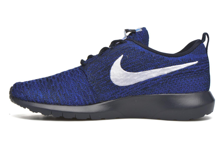 Sneaker Nike Nike Roshe Nm Flyknit blau ansicht von vorne