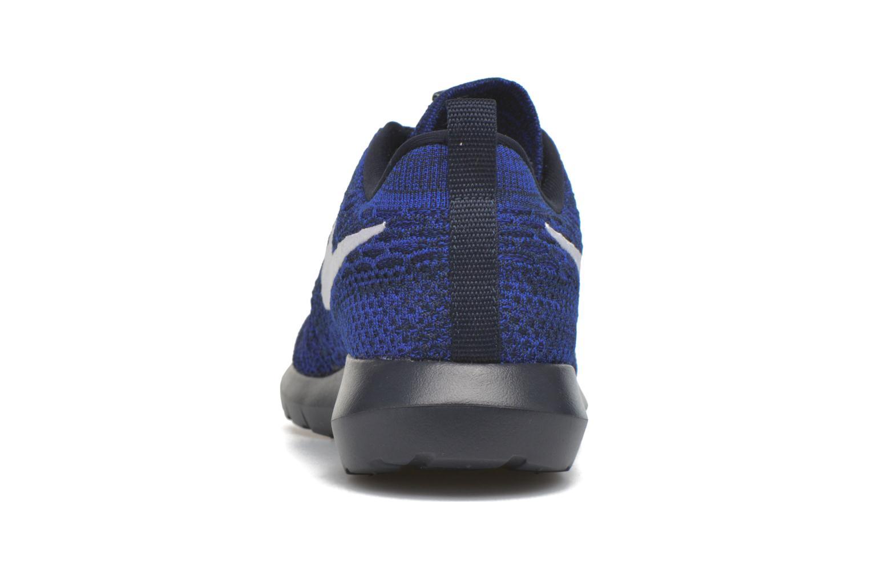Sneaker Nike Nike Roshe Nm Flyknit blau ansicht von rechts
