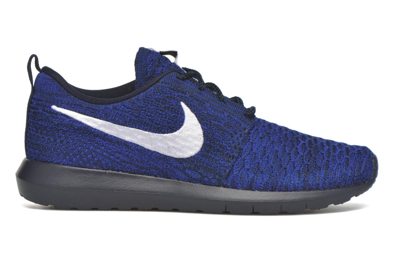 Nike Roshe Nm Flyknit Dark Obsidian/White-Racer Blue