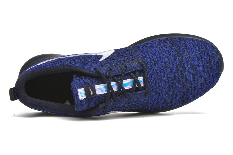 Sneaker Nike Nike Roshe Nm Flyknit blau ansicht von links