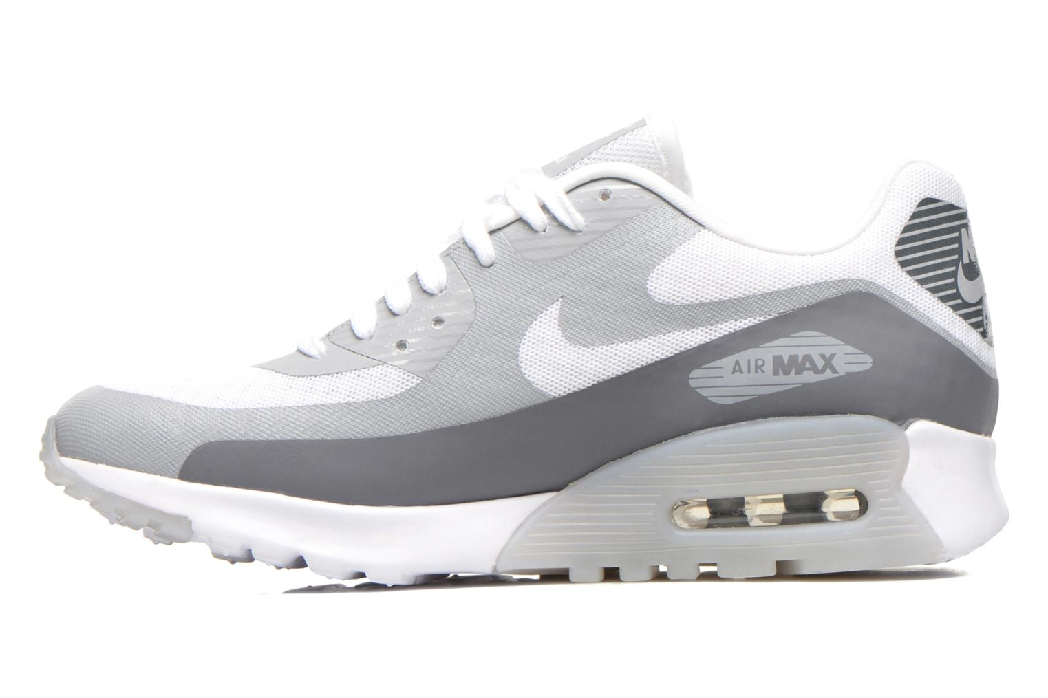 W Air Max 90 Ultra Br White/Cool Grey-Wolf Grey