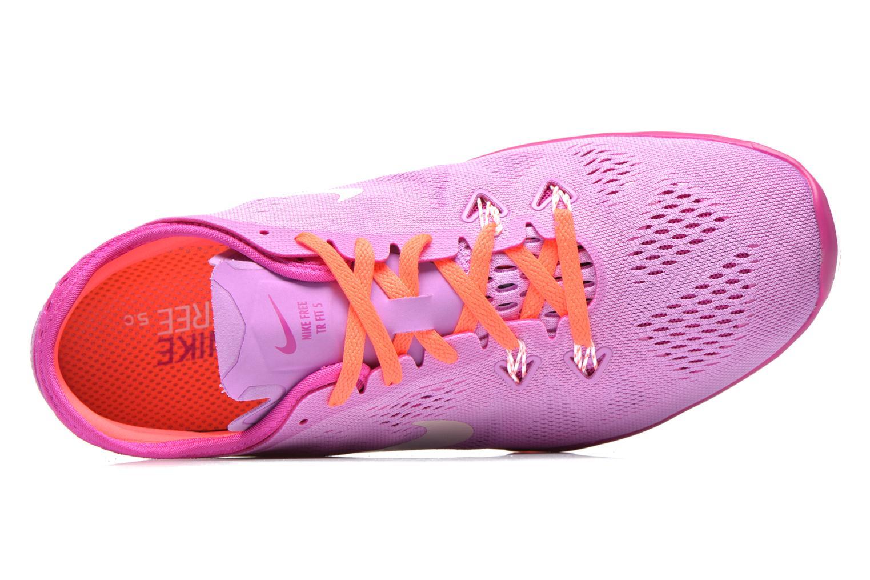 Chaussures de sport Nike W Nike Free 5.0 Tr Fit 5 Brthe Violet vue gauche