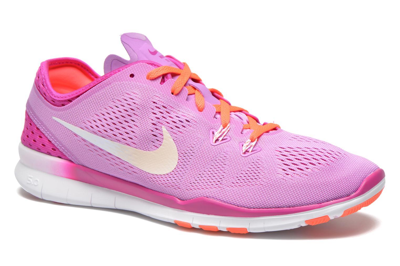 W Nike Free 5.0 Tr Fit 5 Brthe Fchs GlwWhite-Fchs Flsh-Ht Lv