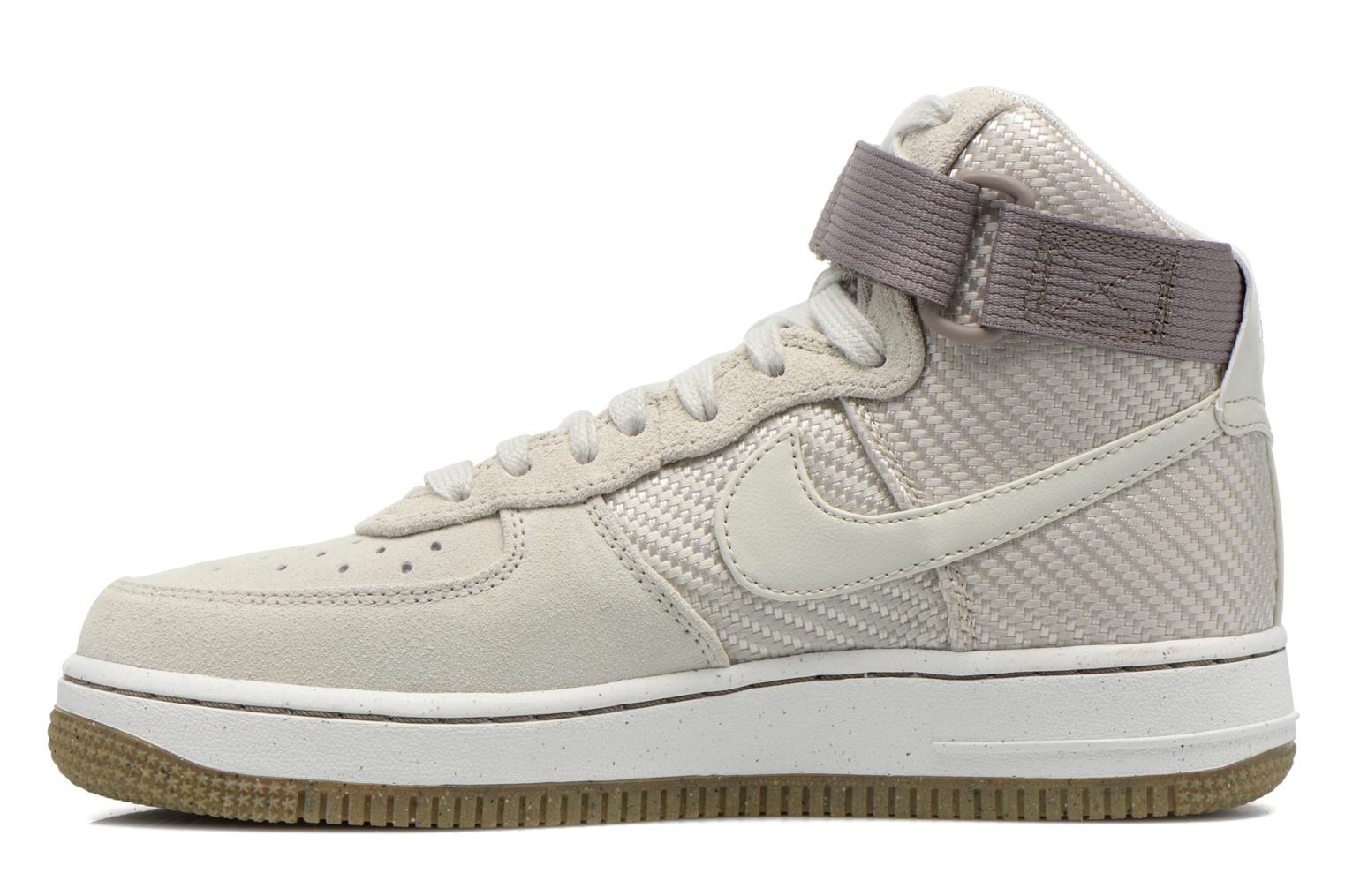 Sneakers Nike Wmns Air Force 1 Hi Prm Beige se forfra
