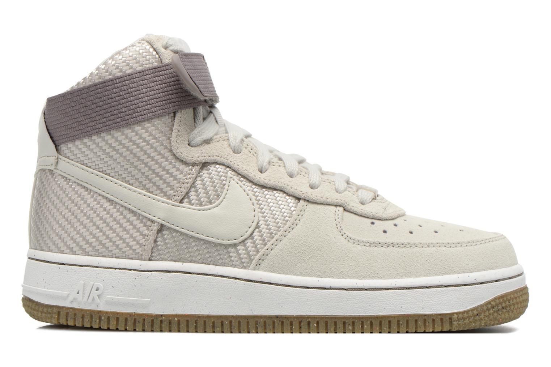 Baskets Nike Wmns Air Force 1 Hi Prm Beige vue derrière