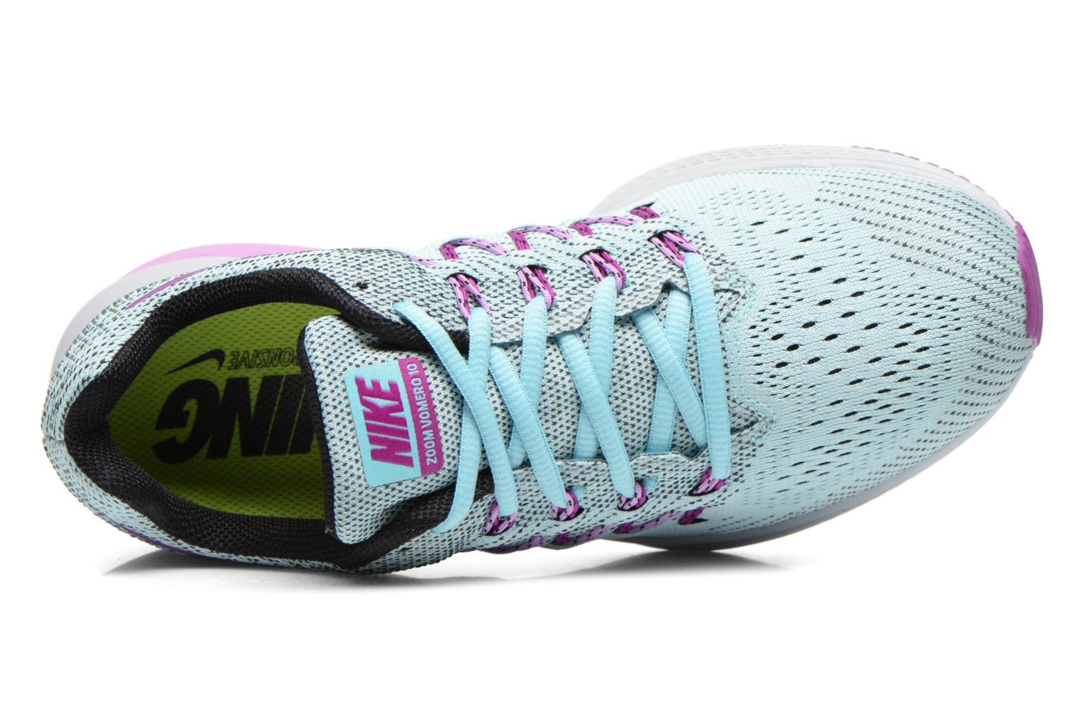 Sport shoes Nike Wmns Nike Air Zoom Vomero 10 Blue view from the left