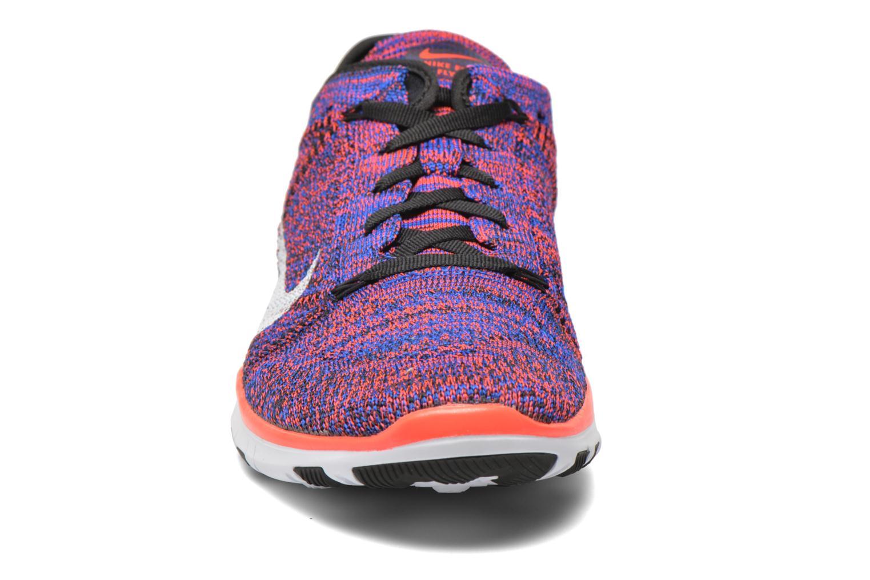 Chaussures de sport Nike Wmns Nike Free Tr Flyknit Multicolore vue portées chaussures