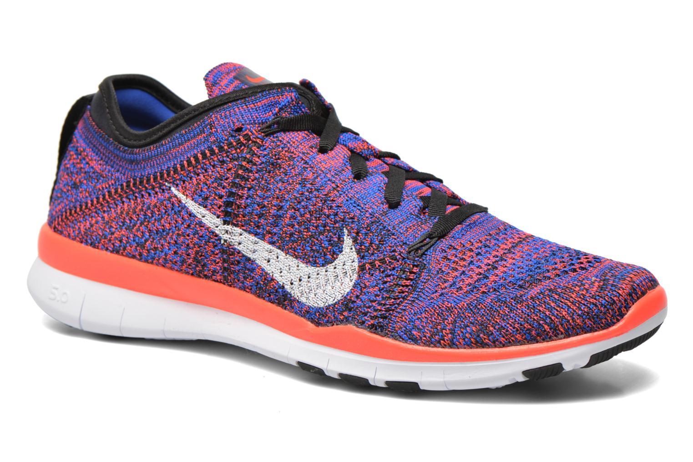 Chaussures de sport Nike Wmns Nike Free Tr Flyknit Multicolore vue détail/paire