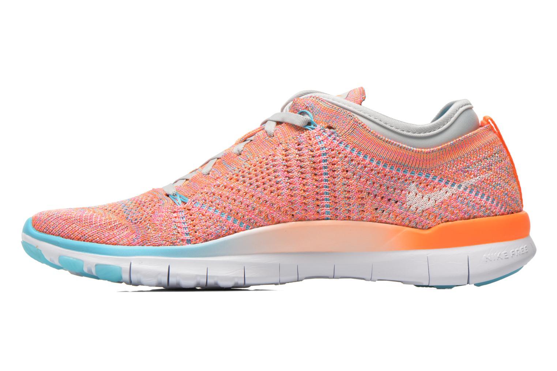 Chaussures de sport Nike Wmns Nike Free Tr Flyknit Orange vue face