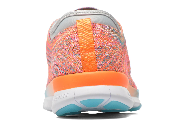 Chaussures de sport Nike Wmns Nike Free Tr Flyknit Orange vue droite