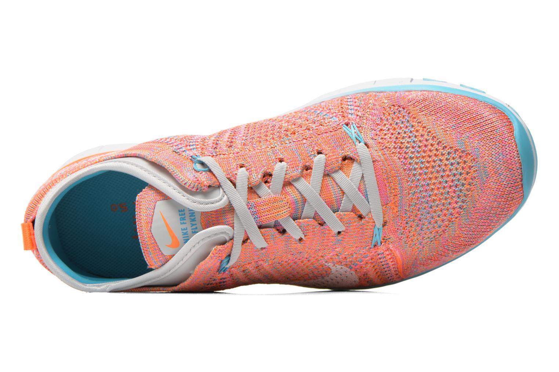 Chaussures de sport Nike Wmns Nike Free Tr Flyknit Orange vue gauche