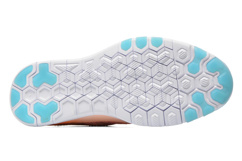 Chaussures de sport Nike Wmns Nike Free Tr Flyknit Orange vue haut