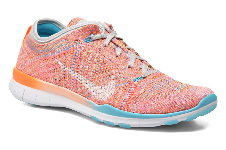 Chaussures de sport Nike Wmns Nike Free Tr Flyknit Orange vue détail/paire