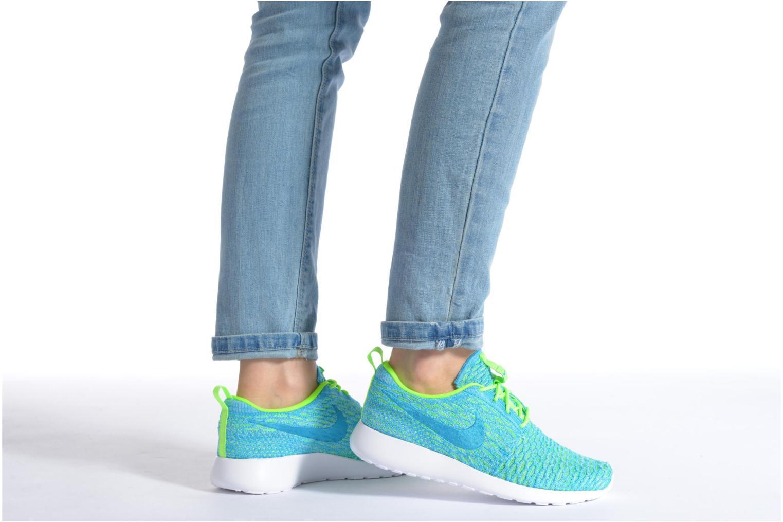 Sneakers Nike Wmns Roshe One Flyknit Blauw onder