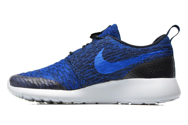 Sneakers Nike Wmns Roshe One Flyknit Blauw voorkant