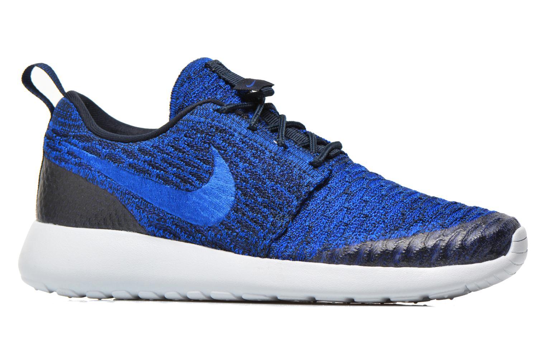 Sneakers Nike Wmns Roshe One Flyknit Blauw achterkant