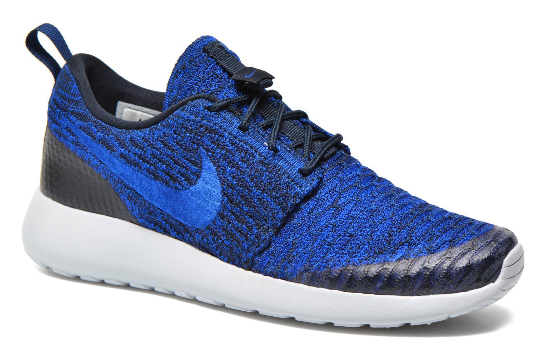 Sneakers Nike Wmns Roshe One Flyknit Blauw detail