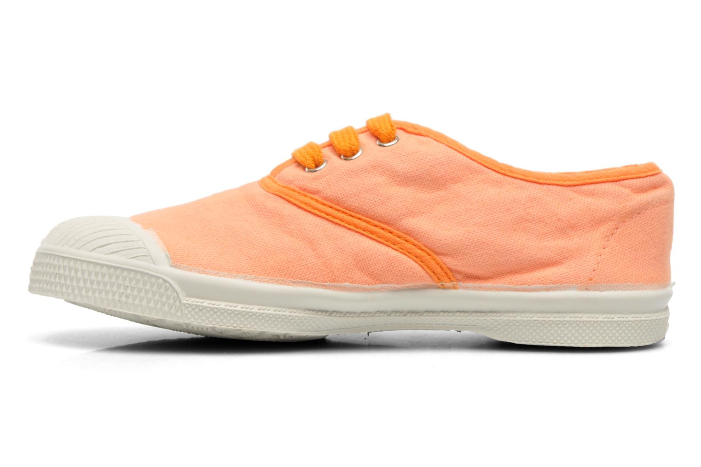 Baskets Bensimon Tennis Colorpiping 2 Orange vue face