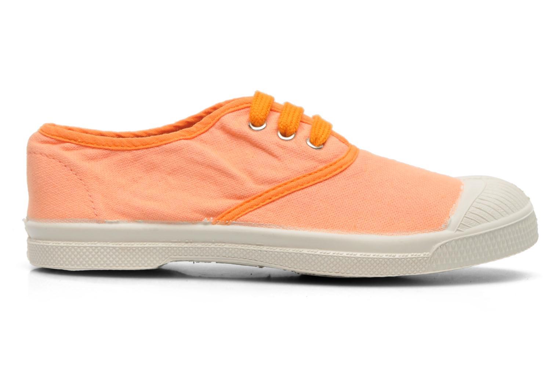 Baskets Bensimon Tennis Colorpiping 2 Orange vue derrière