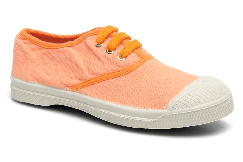 Baskets Bensimon Tennis Colorpiping 2 Orange vue détail/paire