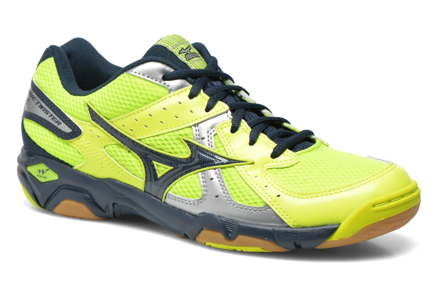 Wave Twister 4 Neon Yellow/Dress Blues/Silver