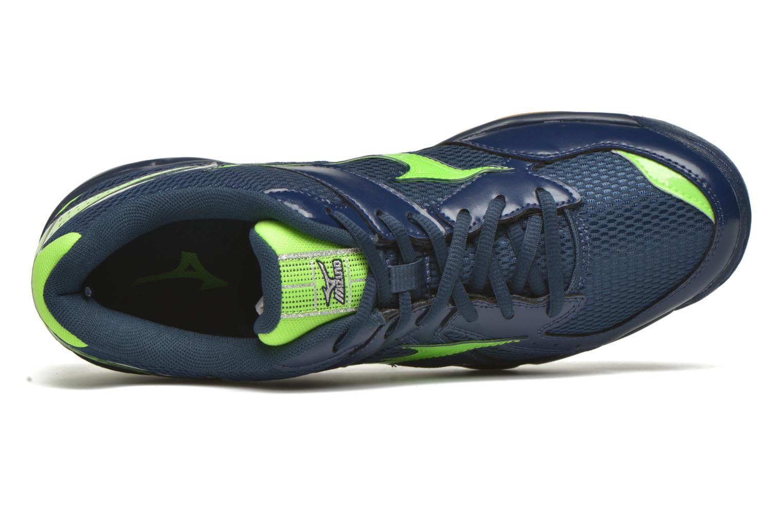 Sportschoenen Mizuno Wave Twister 4 Blauw links