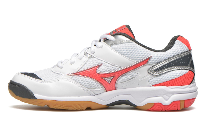 Chaussures de sport Mizuno Wave Twister 4 W Blanc vue face