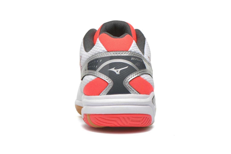 Chaussures de sport Mizuno Wave Twister 4 W Blanc vue droite