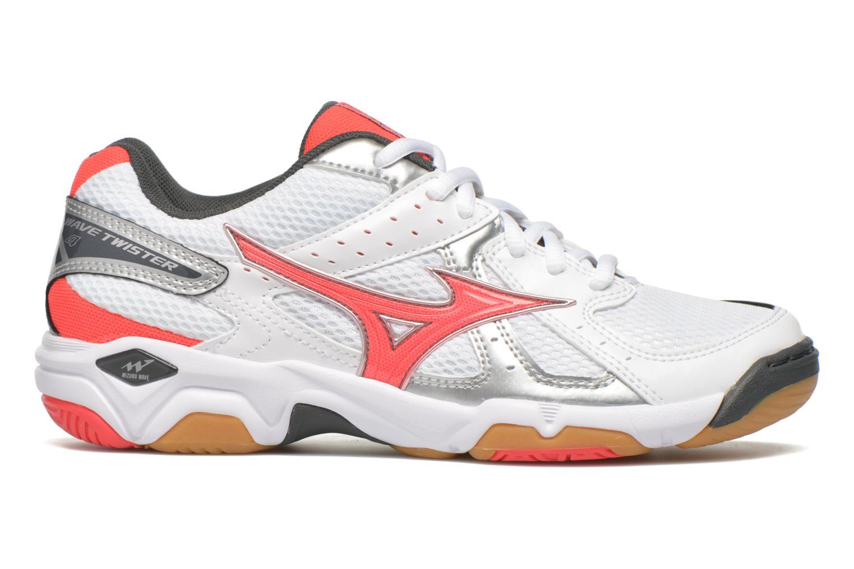Chaussures de sport Mizuno Wave Twister 4 W Blanc vue derrière