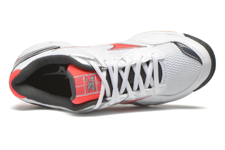 Chaussures de sport Mizuno Wave Twister 4 W Blanc vue gauche