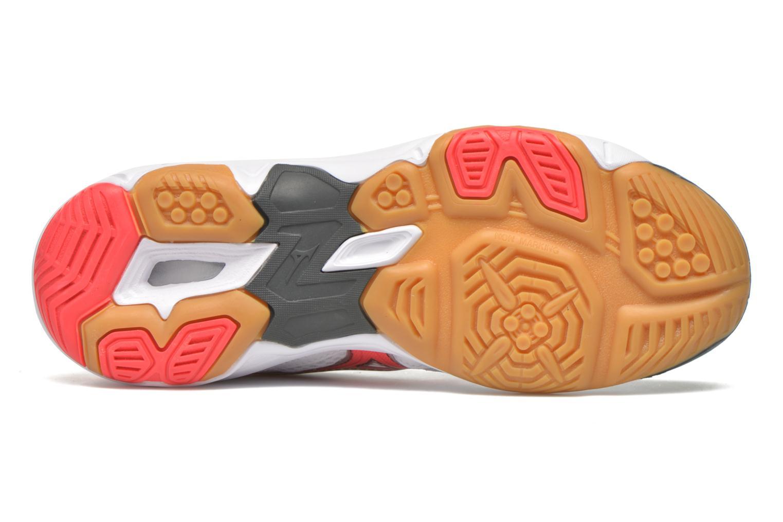 Chaussures de sport Mizuno Wave Twister 4 W Blanc vue haut