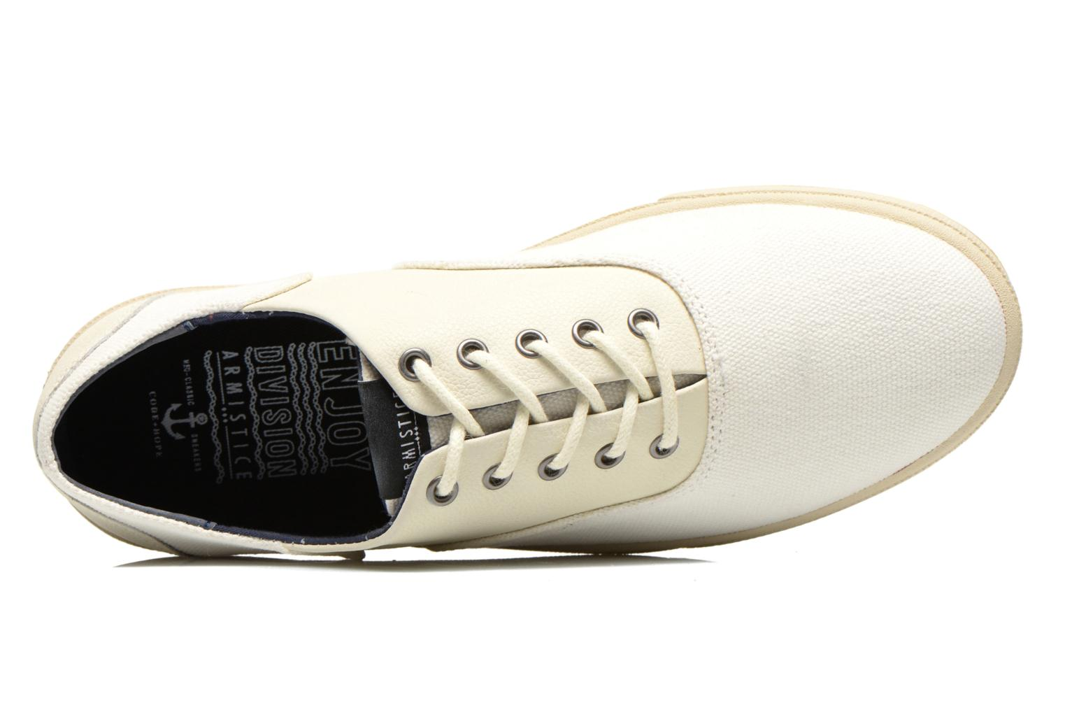 Sneakers Armistice Hope Trainer Canvas/Leather Grain Wit links